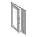 Двери с бронестеклом