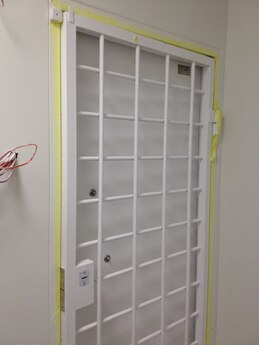 Дверь металлическая решетчатая 900х2100 мм