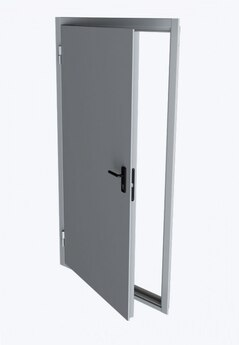 Дверной блок EI60 класса взломостойкости противопожарная