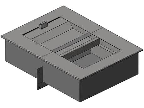 Лоток передаточный двухуровневый на 2 б/у Бр-3 (ЛП-22)