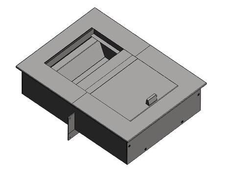 Лоток передаточный одноуровневый на 2 б/у Бр-4 (ЛП-21 со шторкой)