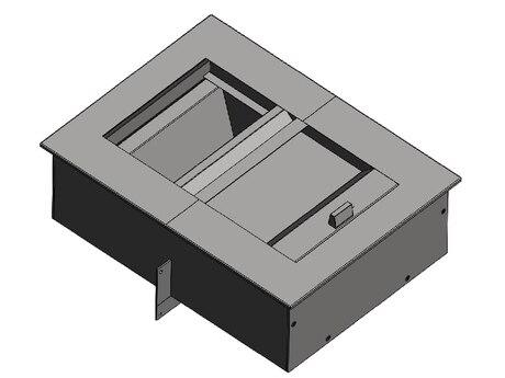 Лоток передаточный двухуровневый на 5 б/у класс пулестойкости Бр-3 (ЛП-52)